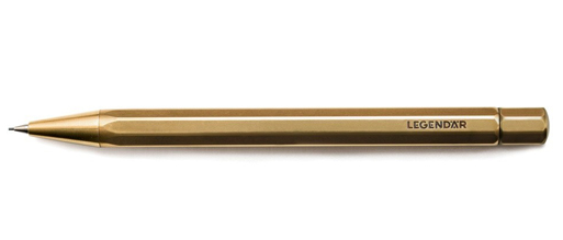 LGNDR Brass Pencil TWYST