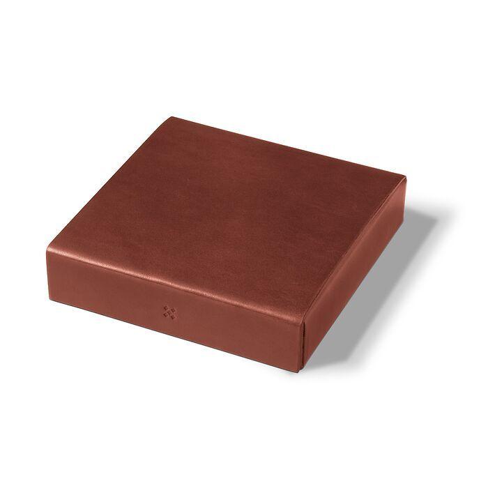 LGNDR Leather Case ETWEE Square Chestnut